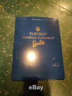 1997 FABERGE IMPERIAL ELEGANCE Barbie Doll Limited Edition Porcelain #03690