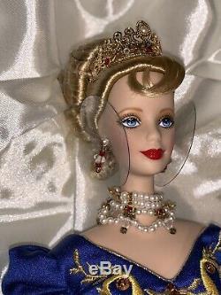 1997 FABERGE IMPERIAL ELEGANCE Barbie Doll Limited Edition Porcelain Swarovski