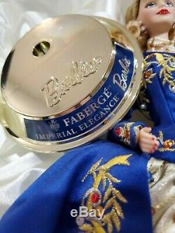 1997 Porcelain Faberge Imperial Elegance Limited Edition Barbie Doll