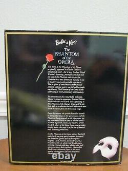 1998 Barbie & Ken In Phantom Of The Opera Fao Schwarz Limited Edition Nrfb