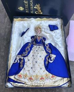 1998 Barbie Porcelain Faberge Imperial Elegance Limited Collectors Swarovski
