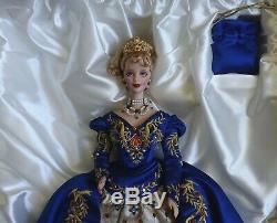 1998 Faberge Imperial Elegance Porcelain Barbie Doll 19816 Limited Edition 9309