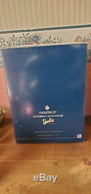 1998 Faberge Imperial Elegance Porcelain Barbie Doll Limited Edition 06912 NRFB