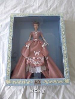 1999 Limited Edition Wedgwood Barbie Doll England 1759 Mattel 50823 New