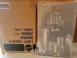2000 BOB MACKIE LADY LIBERTY Barbie Doll Limited Edition