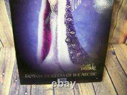 2001 Limited Edition Bob Mackie Barbie Fantasy Goddess Of The Arctic New In Box
