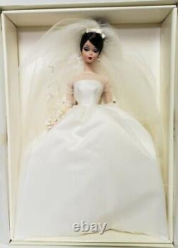 2001 Limited Edition Maria Therese Wedding Bride Silkstone Barbie Doll & Bouquet