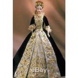 2001 Mattel Faberge Imperial Grace Barbie Limited Edition Porcelain