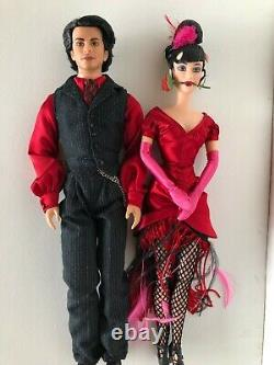 2002 Fao Schwarz Barbie Mattel Tango Barbie & Ken Doll Limited Edition