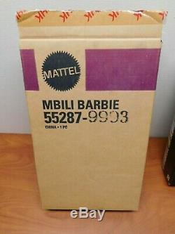 2002 Limited Edition MBILI Treasures of Africa Barbie #55287 withCOA