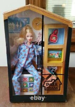 2004 Paul Frank Barbie Doll Blue Pajamas Limited Edition B8954 NRFB