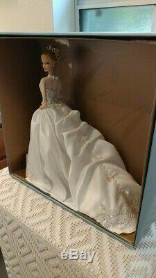 2007 NRFB Barbie Reem Acra Bride Platinum Label Limited Ed 999 Blonde Doll L3549