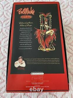 2010 Bob Mackie Circus Ringmaster Barbie Gold Label Limited Edition with COA