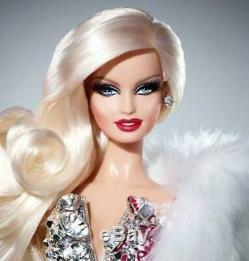 2012 Barbie doll Figure Blond Diamond W3499 Gold Label Limited From JapanMint8H