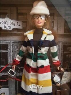 2016 Hudsons Bay Barbie Silver Label Limited Edition Nrfb
