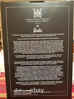2016 Limited Edition Silver Label Hudson's Bay Barbie Doll NRFB