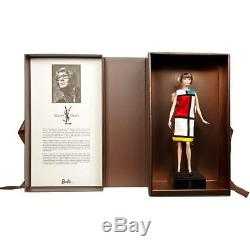 2018 Platinum Label Yves Saint Laurent Barbie Iconic 1965 Mondrian Dress Limited