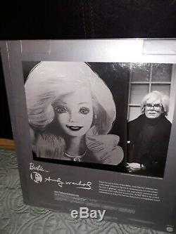 Andy Warhol Platinum Label Barbie Doll 2015 Pop Art Limited Edition 999 New NRFB