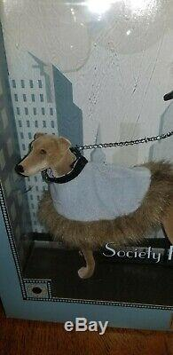 Authentic Limited Edition Society Hound Collection Barbie Collectibles + Dog