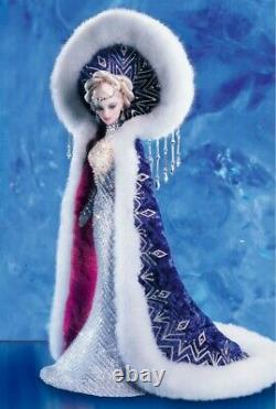 BARBIE 2001 Bob Mackie Fantasy Goddess of the Arctic Limited Edition Doll NIB