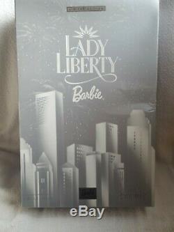 BARBIE DOLL LADY LIBERTY by BOB MACKIE 2000 LIMITED EDITION NIB