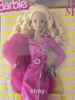 BARBIE Moschino The Met Platinum Label NRFB! Limited Doll