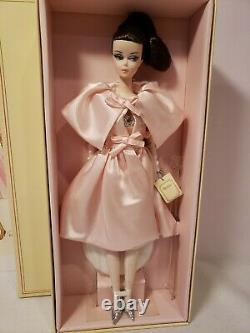 BLUSH BEAUTY SILKSTONE BARBIE DOLL With LIMITED EDITION SKETCH 2015 MATTEL CHT04