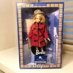 BURBERRY BLUE LABEL BARBIE doll limited edition RED coat MATTEL from JAPAN