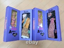 Barbie × ANNA SUI Doll 2 set 60th Anniversary Limited Rare New