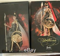 Barbie As Athena Gold Label 2009 NRFB MINT 5,300 Limited Edition Worldwide Rare