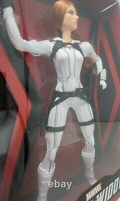 Barbie Black Widow White Costume Marvel Limited Edition Doll with Stand