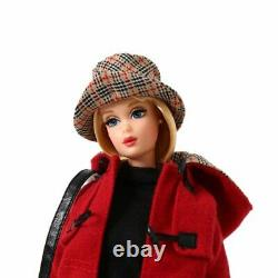 Barbie Burberry London Blue Label Doll Red Coat Collaboration Limited Japan Used
