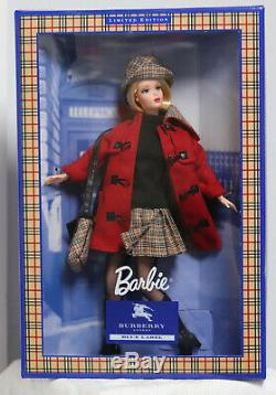 Barbie Burberry NIB Limited edition Blue Label