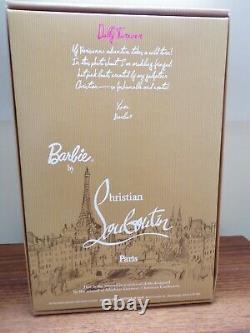 Barbie Christian Louboutin Doll Dolly Forever Limited Edition 2009 Bnib