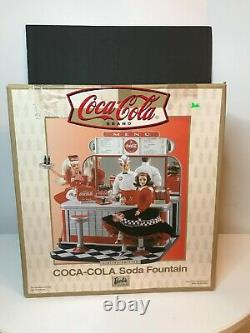 Barbie Coca-Cola Soda Fountain Limited Edition Playset 2000 Mattel NEW in Box