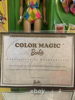 Barbie Collectibles Colour Magic Barbie Doll (2003)Reproduction MIB Limited Ed