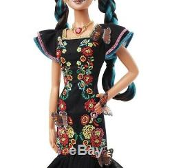 Barbie Collector Dia De Los Muertos Day of The Dead Doll Limited Edition
