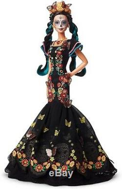 Barbie Collector Dia De Los Muertos Day of The Dead Doll Limited Edition! NEW