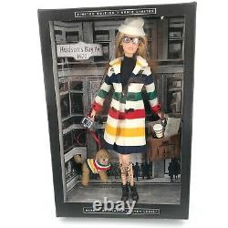 Barbie Collector Doll Hudson's Bay Company Limited Edition Silver Label 2016