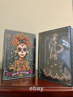 Barbie Dia De Los Muertos Day of The Dead Doll Mattel 2019 Limited Edition
