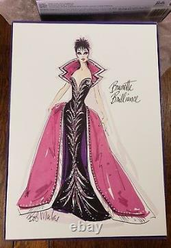 Barbie Doll Brunette Brilliance Bob Mackie Red Carpet Collection Limited Edition