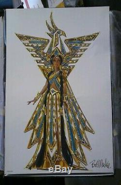 Barbie Doll Fantasy Goddess Of The Americas 2000 Limited Edition Bob Mackie