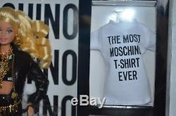 Barbie Doll Fashion Moschino Blond 2015 Gold Label Limited