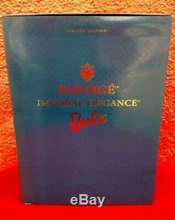 Barbie Doll Mattel Faberge Imperial Elegance Porcelain 1997 Limited Edition