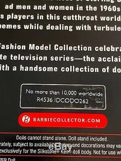 Barbie Fashion Model Mad Men Don Draper 2010 Gold Label Limited Edition