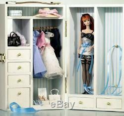 Barbie Fashion Silkstone Limited Edition WARDROBE CARRYING CASE NRFB