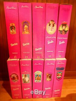 Barbie GREAT ERAS Complete Set of 10 1993 1997 Limited Edition
