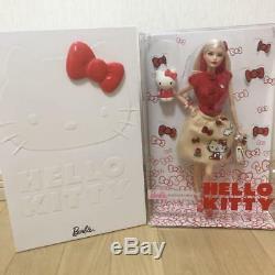 Barbie Hello Kitty Mattel Sanrio Japan Limited 1000 Figure Doll PVC 2018 DWF58