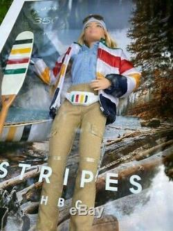 Barbie Hudson's Bay Company limited edition collector doll stripes HBC 2020