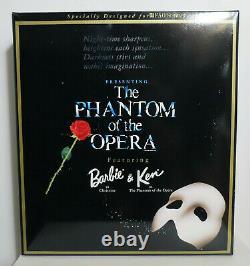 Barbie & Ken The Phantom of the Opera FAO Schwartz No. 20377 NIB NRFB Limited Ed